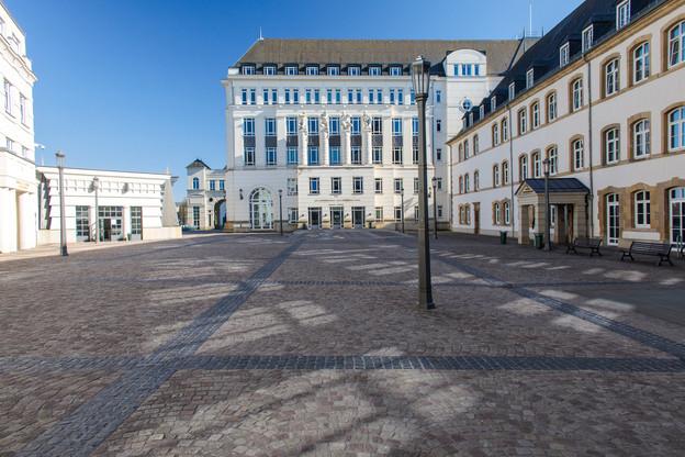 La cité judiciaire s'animera un peu plus à compter du 4 mai. (Photo: Matic Zorman/archives/Maison Moderne)