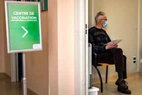 Jean-Claude sera le premier vacciné de la journée du vendredi 22 janvier. ((Photo: Nader Ghavami/Maison Moderne))