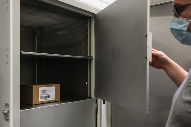 Les 1.200doses du vaccin Moderna sont un début, puisqu'au total, le Luxembourg a commandé 110.462unités au laboratoire américain. (Photo: SIP/Luc Deflorenne)
