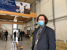 LeDr Sébastien Français s'occupe de la coordination des centres de vaccination Covid au Grand-Duché. Le sixième ne devrait pas ouvrir tout de suite, indique-t-il. ((Photo: Paperjam))