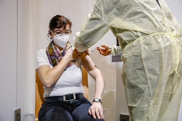 Pour Claudia Holzwarth, la vaccination est une évidence. (Photo: SIP/Julien Warnand)