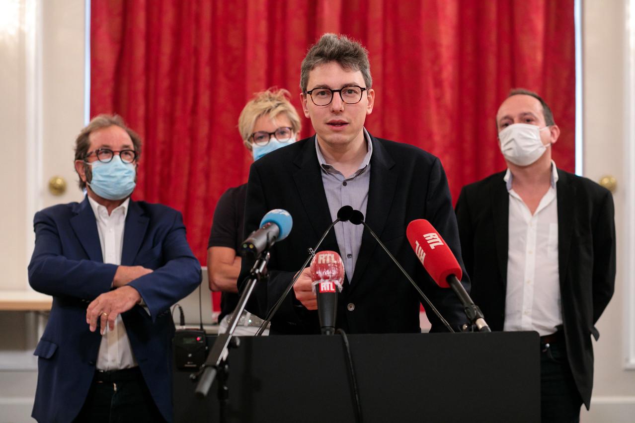 Le chef des Pirates, Sven Clement, a décidé de saisir la justice, après trois affaires sur la vaccination à l'hôpital et dans un centre de soins. (Photo: Matic Zorman/Maison Moderne)