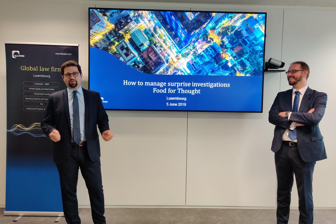 David Alexandre et Olivier Reisch officient au sein du département Propriété intellectuelle et nouvelles technologies de DLA Piper à Luxembourg. (Photo: DLA Piper)