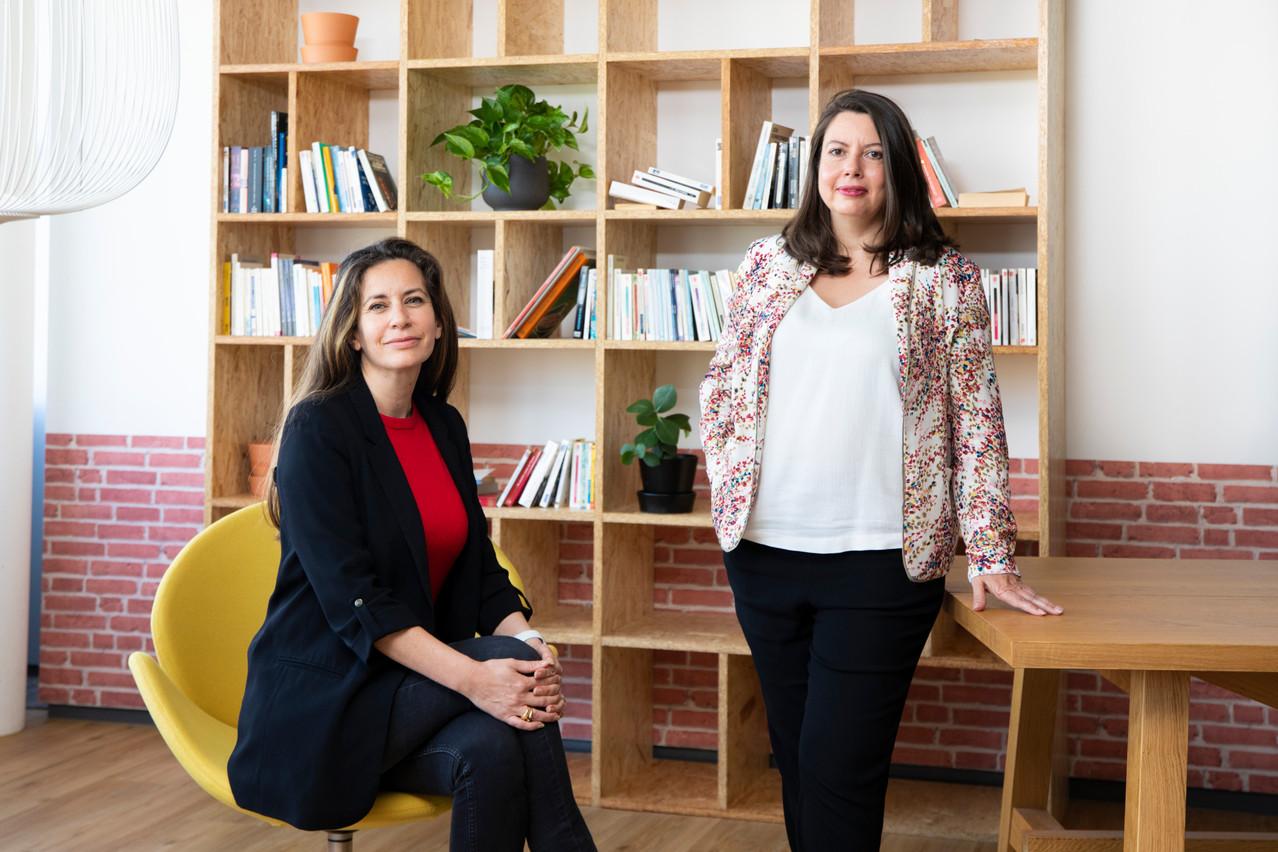 Delphine Bath, Directrice des Ressources humaines, et Florence Verlaine, Head of Comp & Ben à La Mondiale Europartner Simon Verjus