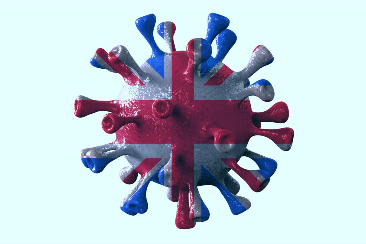 Selon les derniers chiffres publiés, le variant anglais représente 65% des nouveaux cas d'infection au Luxembourg. (Photo: Shutterstock)