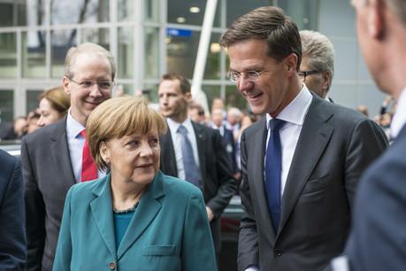Le Premier ministre hollandais, MarkRutte, n'est plus sur la même longueur d'onde que la chancelière allemande. (Photo: Shutterstock)