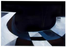 Tina Gillen, «Skate Park IV», 2008, acrylique sur toile, 190x270cm, prix de départ: 23.000€. ((Photo: Tina Gillen))