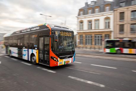 La gratuité des transports en commun à partir du 1 er mars prochain atténuera l'évolution à la hausse de l'inflation sous-jacente. (Photo: Romain Gamba / archives / Maison Moderne)