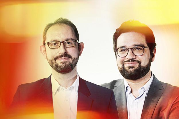 Olivier Reisch, Partner, & David Alexandre, Senior Associate chez DLA Piper. (Photo: Maison Moderne))