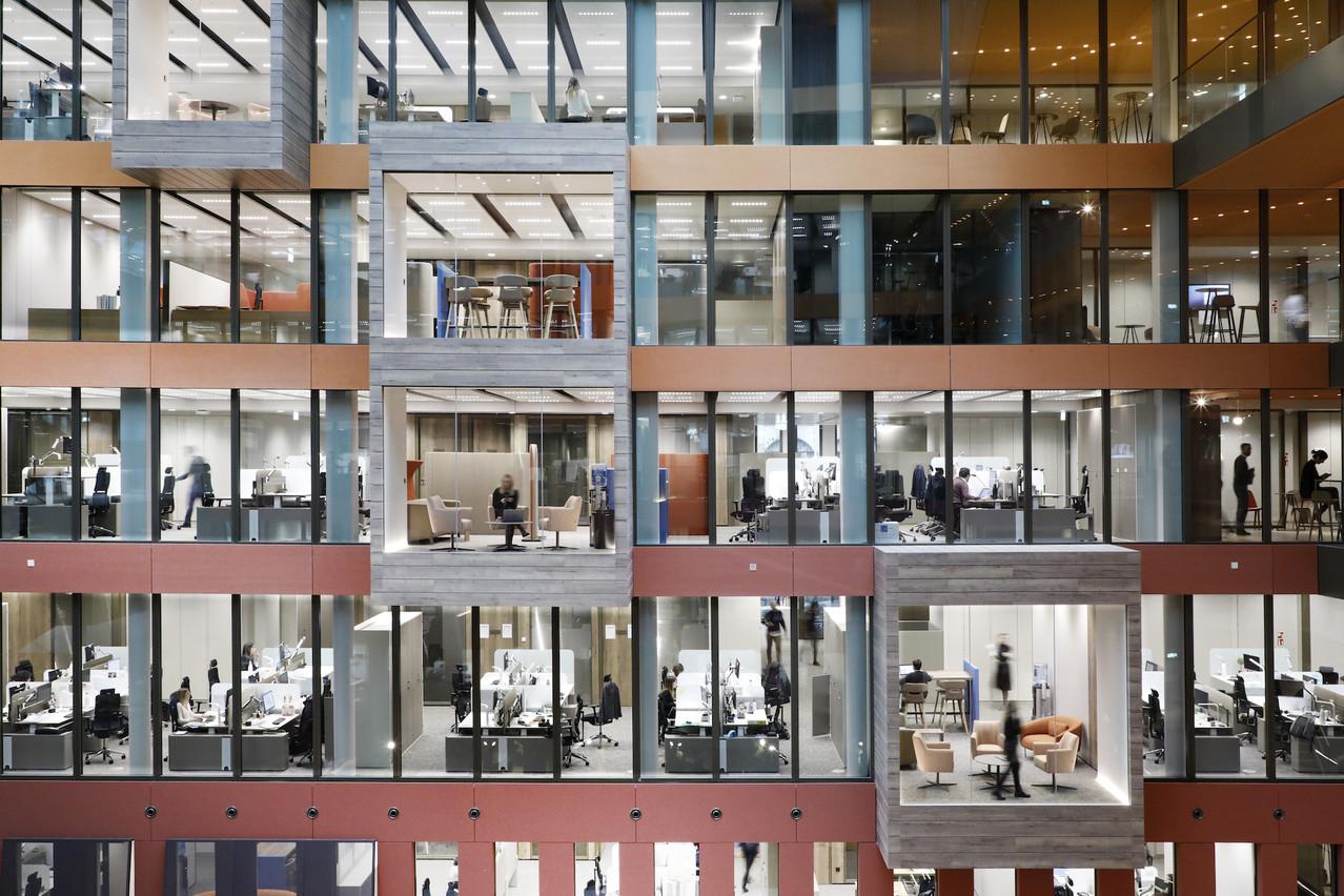 Les open spaces, comme ceux conçus par Lonsdale pour Ferrero, devront-ils évoluer? (Photo: Jacques Giral/archives)
