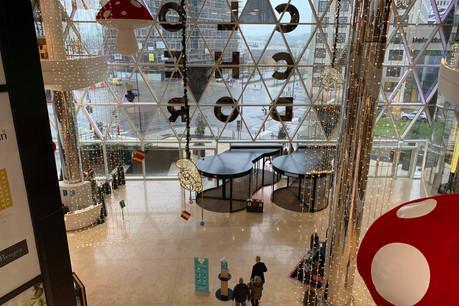 Le centre commercial totalise actuellement 13 cellules vides sur 130. (Photo: Paperjam)