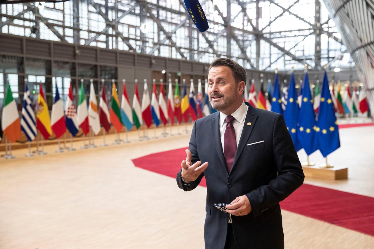 Un conseil de gouvernement extraordinaire pourrait être convoqué ce week-end pour décider d'éventuelles nouvelles mesures restrictives, a prévenu, vendredi, XavierBettel. (Photo: European Union / Archives)