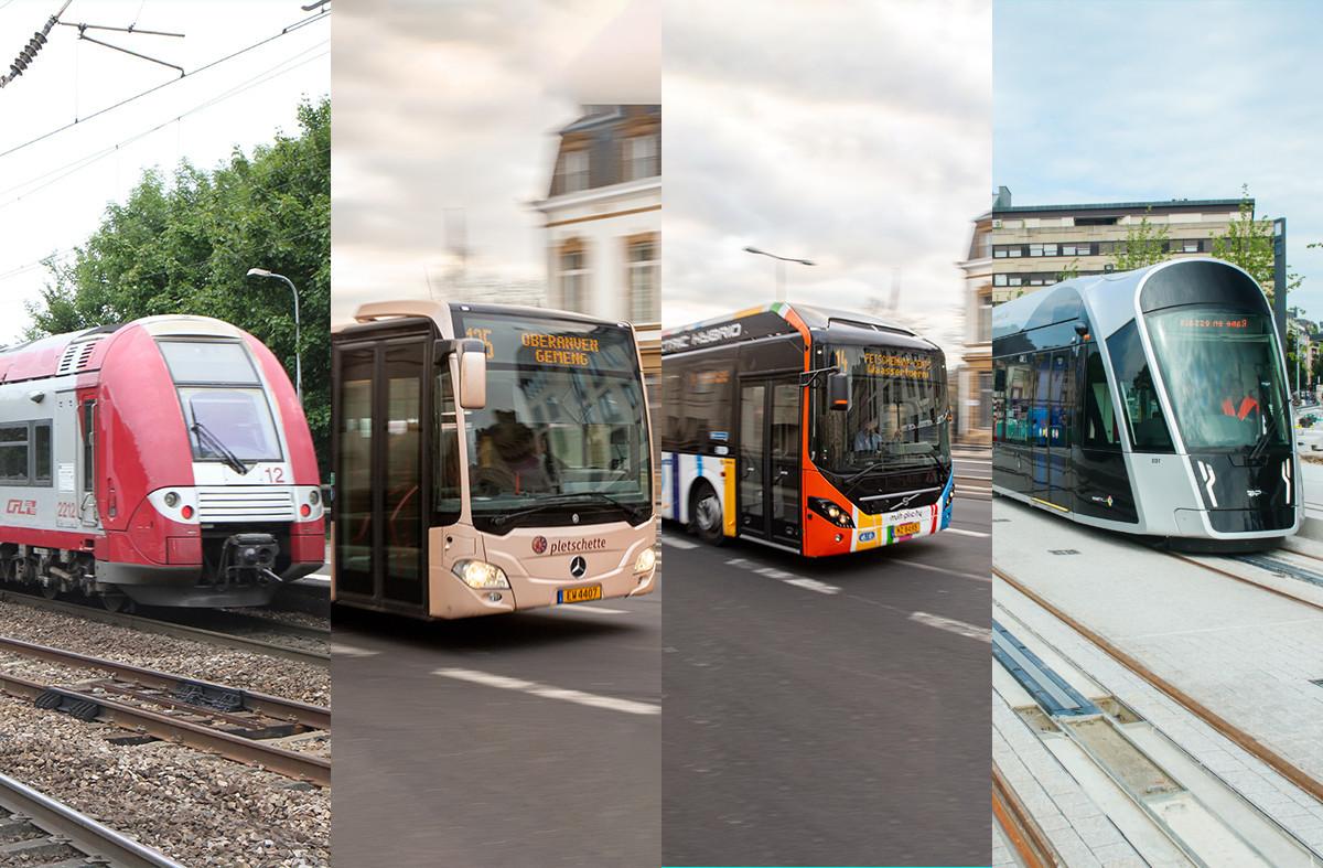 L'offre de transports luxembourgeoise s'adapte aux évolutions et à la demande. (Montage: Maison Moderne)
