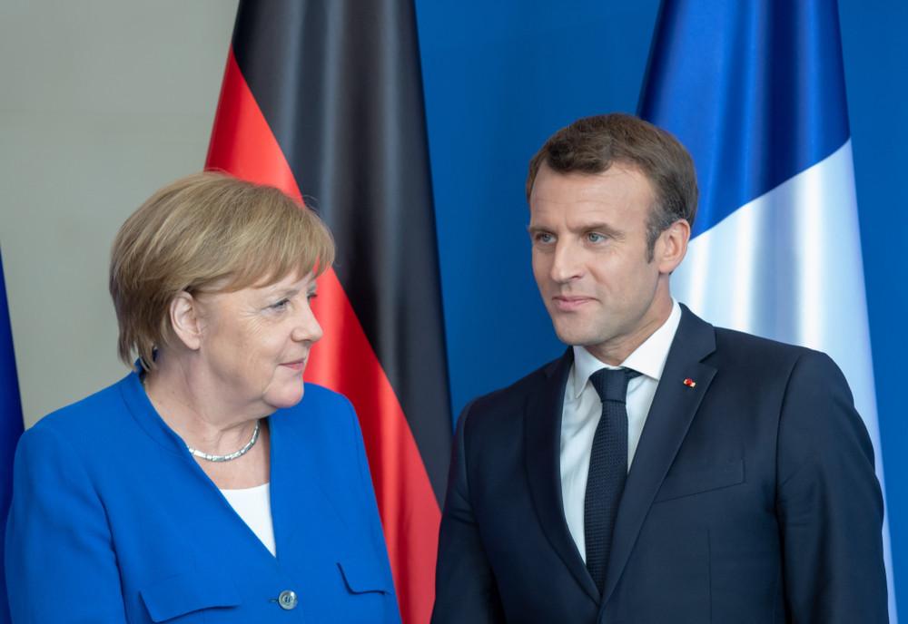 Angela Merkel et Emmanuel Macron ont fait ensemble un grand pas vers un plan de relance européen. (Photo: Shutterstock)