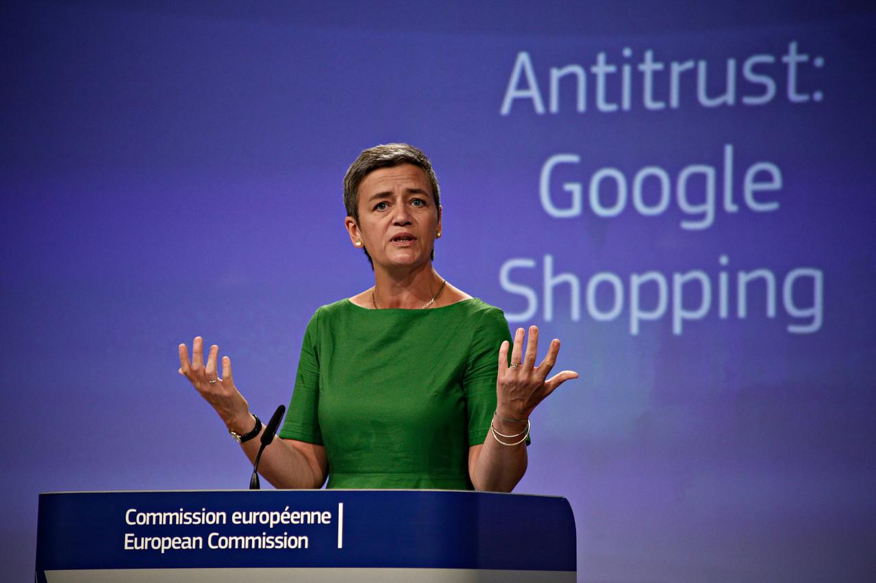 Ajouter le digital à la concurrence, le pire scénario pour les géants américains des technologies. Un signal fort qu'Ursula von der Leyen envoie à tous les acteurs de la planète en renforçant le pouvoir de Margrethe Vestager. (Photo: Shutterstock)