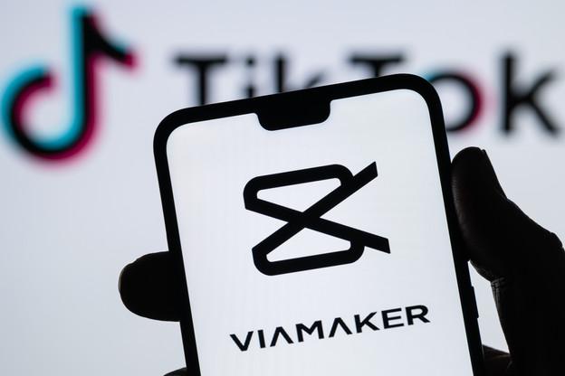 ViaMaker est l'équivalent occidental de TikTok pour gommer l'origine chinoise de l'application de vidéos courtes et amusantes du géant chinois ByteDance. (Photo: Shutterstock)
