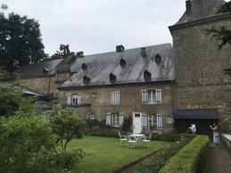 L'arrière du château s'ouvre sur le jardin. ((Photo: Paperjam))