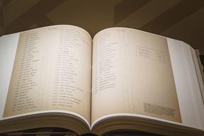 L'exposition s'appuie sur le travail de fourmi de six chercheurs du CNL. (Nader Ghavami / Maison Moderne)