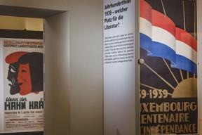 L'exposition illustre la vie littéraire et intellectuelle des années 1930 à l'après-guerre. (Nader Ghavami / Maison Moderne)