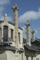 Vue partielle de la façade sud de la Villa Majorelle ((Photo: MEN - Philippe Caron))
