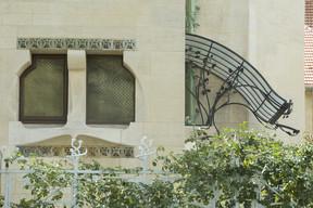 Détail façade est de la Villa Majorelle. ((Photo: MEN - Philippe Caron))