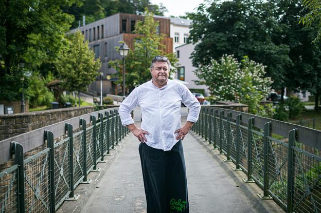 Lou Steichen:«Tous mes clients disent que c'est si calme, si vert, qu'on a l'impression d'être à la campagne.» (Photo: Mike Zenari)