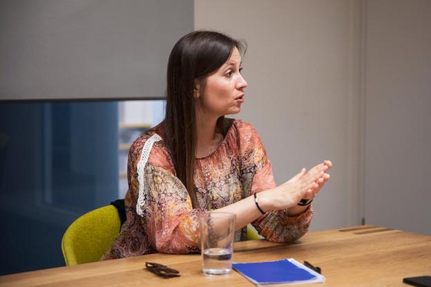 Sophie Sutrich, responsable Violence sexuelle au Comité international de la Croix-Rouge. (Photo: Patricia Pitsch/Maison Moderne)