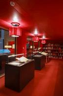 La salle des ouvrages précieux bénéficie d'un traitement architectural différent. ((Photo: Edouard Olszewski))
