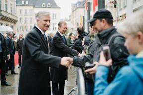 S.M. le Roi des Belges et S.A.R. le Grand-Duc ((Photo: Charles Caratini / SIP))