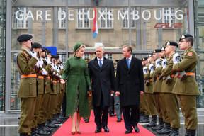 S.M. la Reine des Belges, S.M. le Roi des Belges et S.A.R. le Grand-Duc ((Photo: Charles Caratini / SIP))