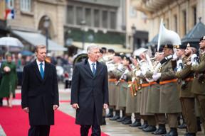 S.A.R. le Grand-Duc et S.M. le Roi des Belges ((Photo: Anthony Dehez))