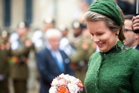 S.M. la Reine des Belges ((Photo: Anthony Dehez))