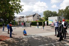 Visite du ministre Claude Meisch à l'école fondamentale Ribeschpont - 25.05.2020 ((Photo: Romain Gamba/ Maison Moderne))