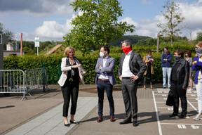 Dan Biancalana (Bourgmestre de la Ville de Dudelange) et Claude Meisch (Ministre de l'Éducation nationale, de l'Enfance et de la Jeunesse) ((Photo: Romain Gamba/ Maison Moderne))
