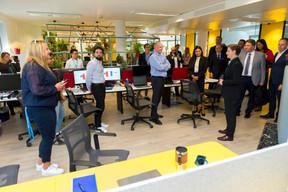 Visite officielle au Luxembourg de la Première ministre de la république de Serbie, Ana Brnabic ((Photo: SIP / Emmanuel Claude))