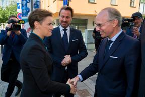 Ana Brnabic (Première ministre de la république de Serbie), Xavier Bettel (Premier ministre) et Luc Frieden (président de la Chambre de commerce) ((Photo: SIP / Emmanuel Claude))