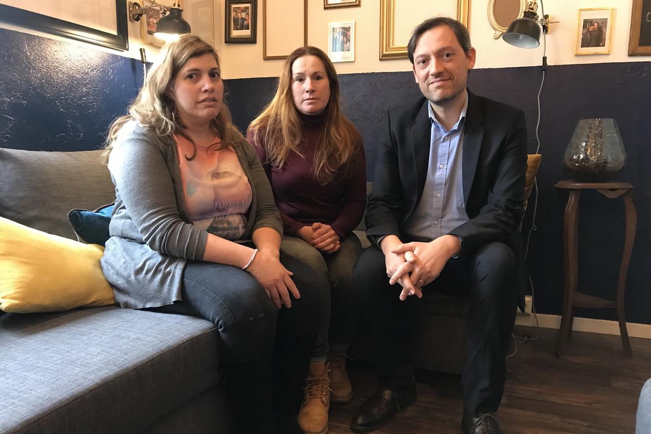 Vitor Murteira, accompagné de son associée, ElviraBrochado (au centre) et de Carla Costa, une de ses employées. (Photo: DR)