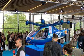 Vivatech offre aussi la possibilité aux visiteurs de découvrir les innovations grandeur nature, à la croisée de la technologie et de la mobilité. ((Photo: DR))