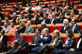 Table ronde organisée par l'Ordre des Architectes et des Ingénieurs-Conseils (OAI) sur le thème «Vivre-ensemble, notre cadre de vie dans nos mains» ((Photo: Julien Swol))