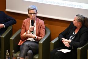 Sam Tanson (Ministre du Logement) et Carole Dieschbourg (Ministre de l'Environnement) ((Photo: Julien Swol))