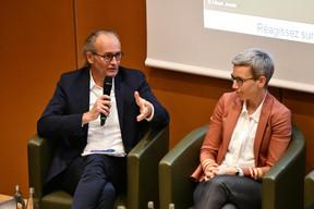 Claude Turmes (Ministre de l'Énergie) et Sam Tanson (Ministre du Logement) ((Photo: Julien Swol))