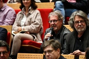 Christian Bauer (CBA) et Alain Linster ((Photo: Julien Swol))