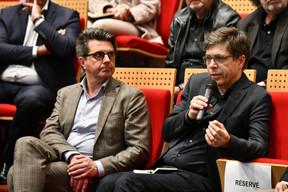 Marc Feider (OAI) et Jos Dell (OAI) ((Photo: Julien Swol))
