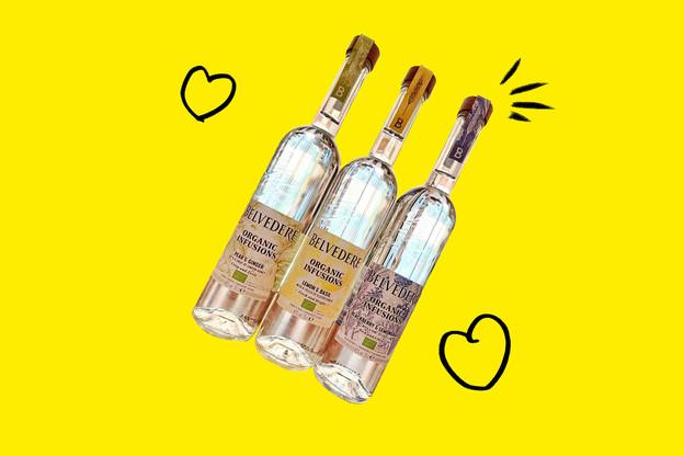 Les nouvelles vodkas bio de Belvedere sont disponibles chez The Store, dans le quartier Gare de Luxembourg. (Design: Maison Moderne)