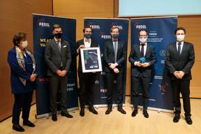 UFT a décroché le Prix de l'innovation dans la catégorie dédiée aux start-up. ((Photo: Matic Zorman / Maison Moderne))