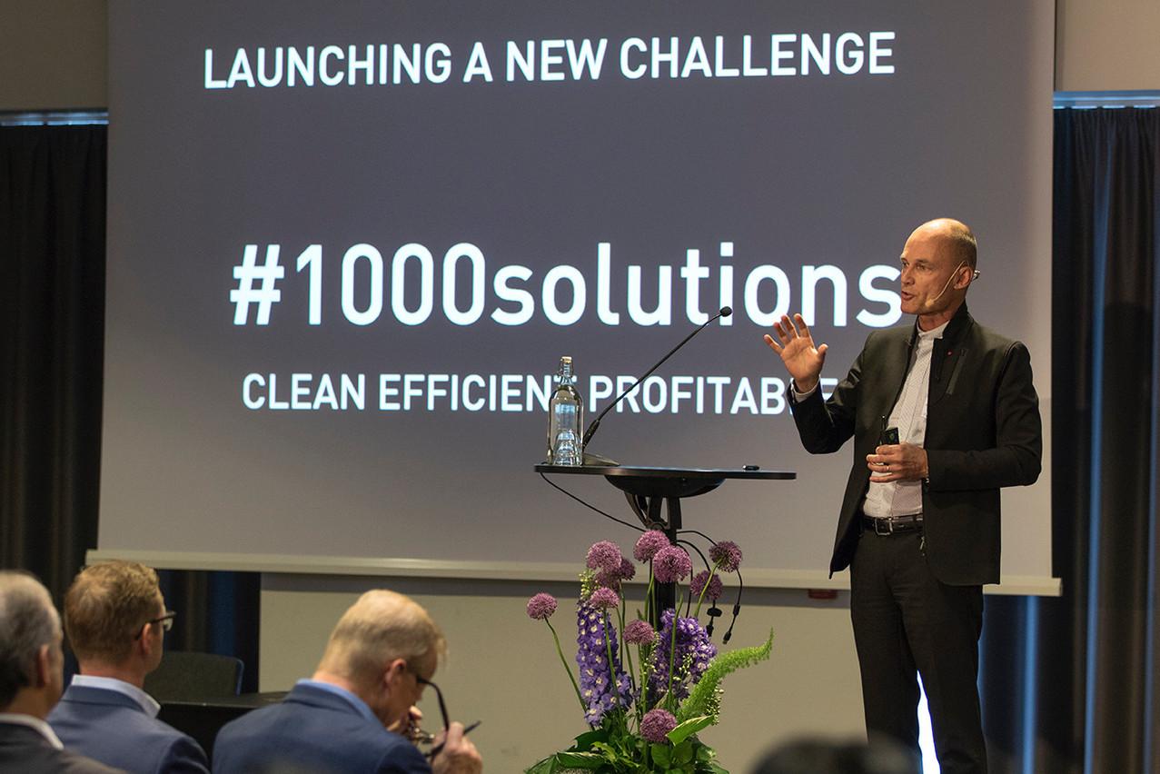 Depuis qu'il a rangé son avion solaire, Solar Impulse, BertrandPiccard a lancé une fondation et une nouvelle initiative, visant à labelliser 1.000 technologies à la fois propres et rentables. (Photo: Mission Innovation)