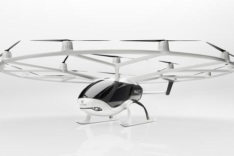 Volocopter espère proposer son taxi vertical d'ici deux à quatre ans. (Photo: Volocopter)