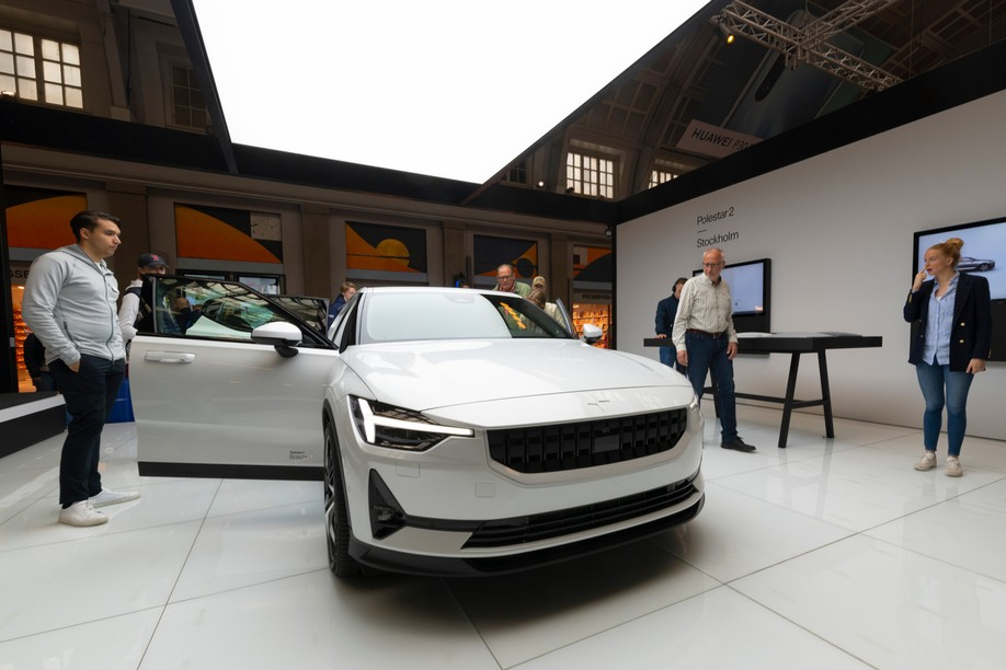 Polestar will soon have a showroom in the Cloche d'Or district. Photo: Shutterstock