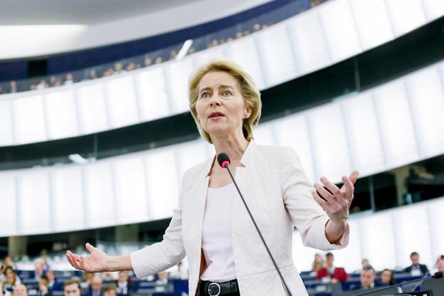 Ursula von der Leyen, une proche d'Angela Merkel, était la candidate présentée par le Conseil européen. (Photo: European Union 2019)