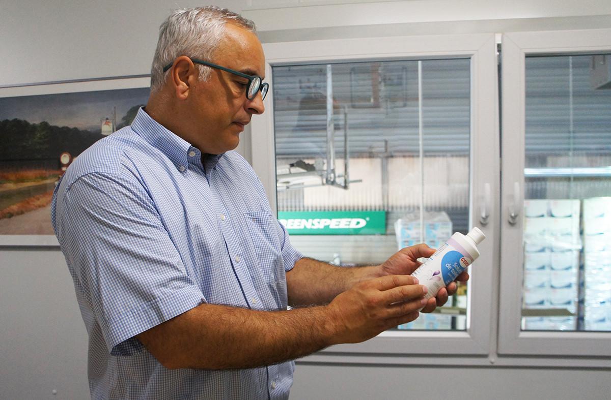 Selon Antonio Caetano, au début de la pandémie, pour répondre à la demande, certains produits commercialisés ne répondaient pas à toutes les garanties. (Photo: Delano.lu)